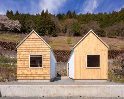 Cedar house, Pine house