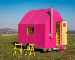 Magenta Tiny House