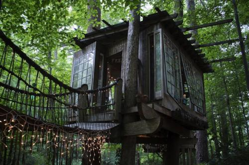 09-Secluded Intown Treehouse